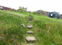 Steps leading to Upper Garden