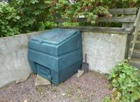 Lower Front Garden - Coal Bunker