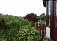 Garden west of Conservatory